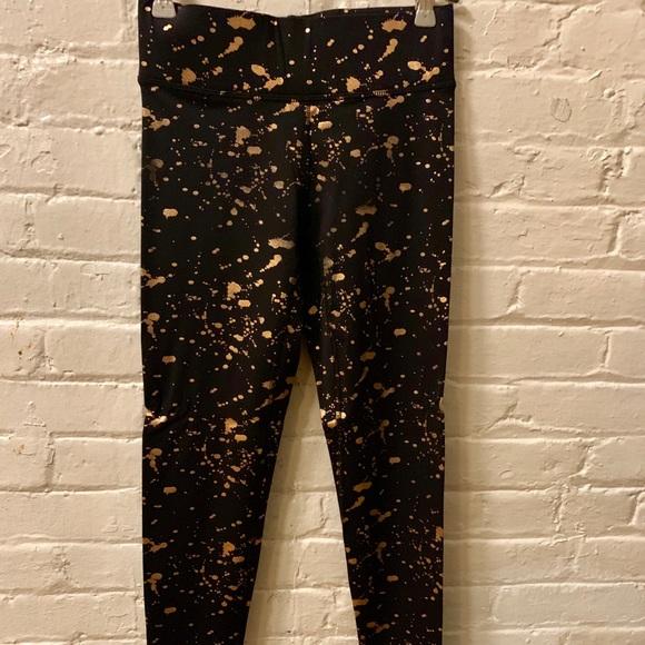 d5f61403e Terez Pants   Gold Pain Splatter Leggings   Poshmark